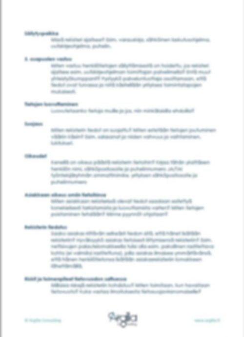 Tietosuojasuunnitelma - Työkalut pienyritykselle 2