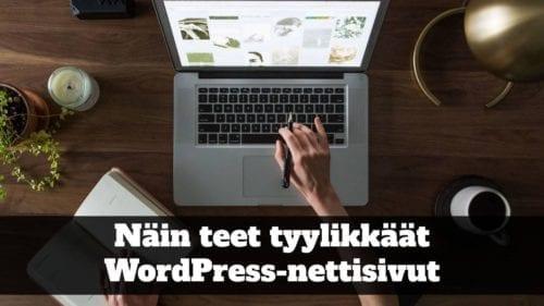 Tee tyylikkäät nettisivut -verkkokurssi 1
